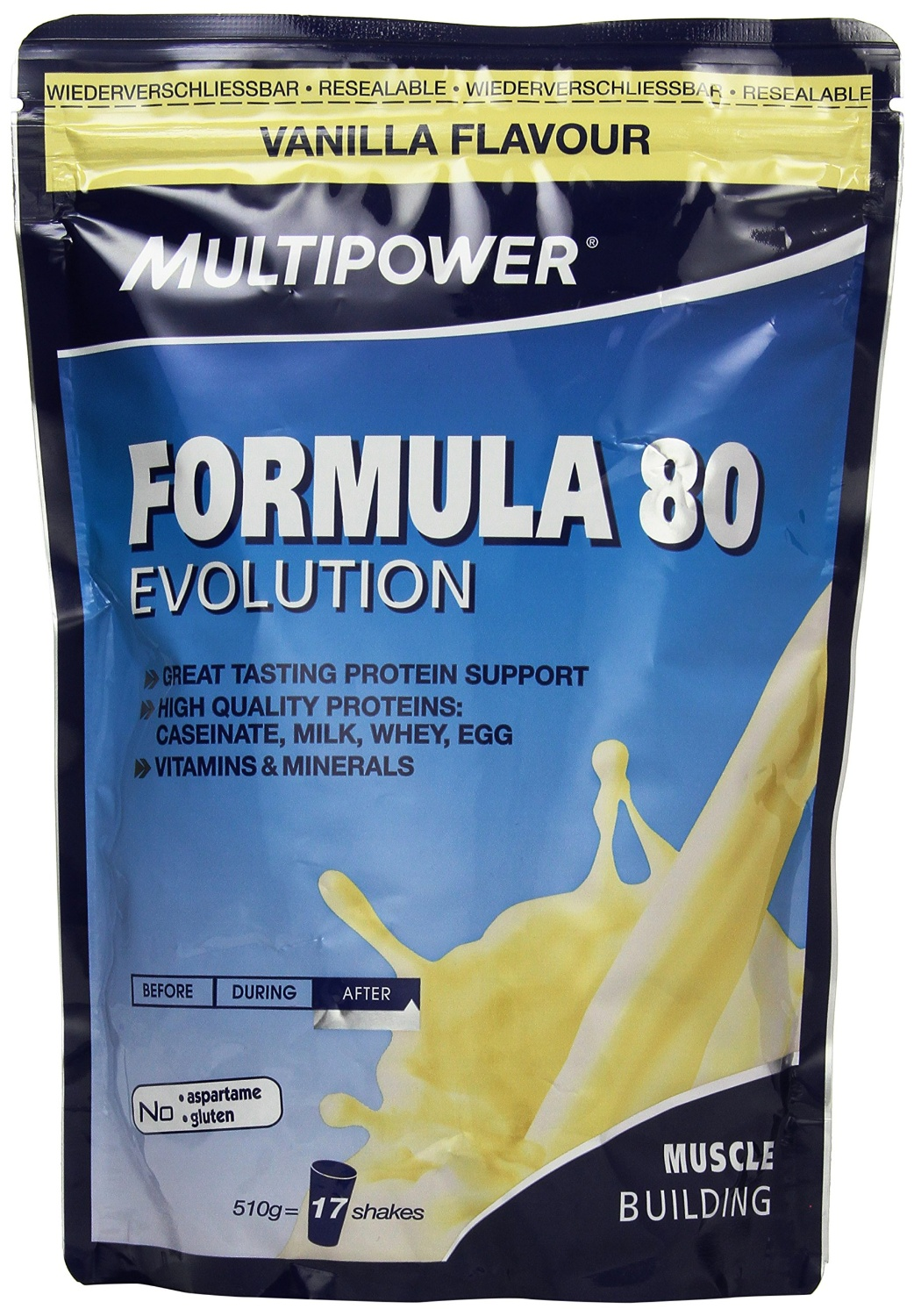 Multipower evolution formula 80